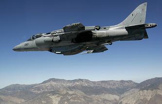 Истребитель ВВС США Harrier