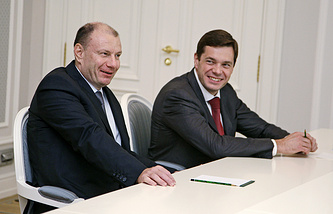 Владимир Потанин и Алексей Мордашов