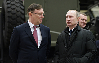 Сергей Когогин (слева)