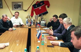 Расширенное заседание Контрольно-дисциплинарного комитета Федерации хоккея с мячом России