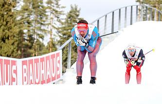 Российский лыжник Андрей Ларьков