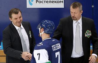 Сергей Гимаев (справа)