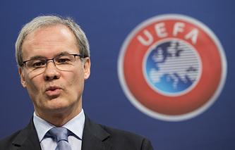 Заместитель генерального секретаря УЕФА Джорджио Маркетти