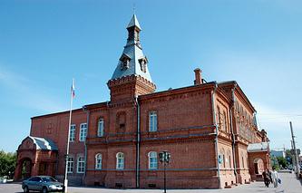 Здание Омского городского совета