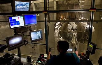 Мусоросжигательный завод в Магдебурге (Германия)