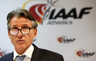 Глава Международной ассоциации легкоатлетических федераций Себастьян Коу