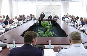 Заседание исполкома РФС