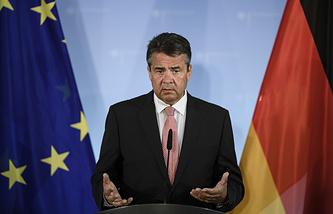 Министр иностранных дел ФРГ Зигмар Габриэль
