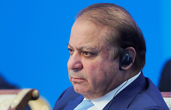 Премьер-министр Пакистана Наваз Шариф