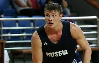 Российский баскетболист Андрей Воронцевич
