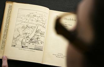 """Первое издание """"Хоббита"""", вышедшее из печати 21 сентября 1937 года"""