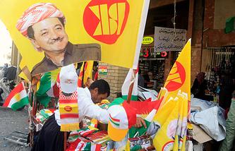 Город Эрбиль в преддверии референдума о независимости Иракского Курдистана