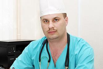 Сосудистый хирург Курской областной клинической больницы Максим Хруслов