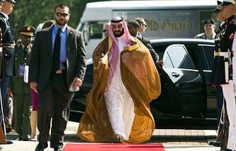 Министр обороны и глава Совета по делам экономики и развития Саудовской Аравии принц Мухаммед бен Сальман