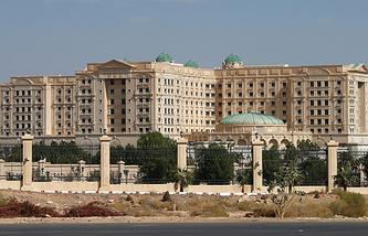 Отель Ritz Carlton в Эр-Рияде, Саудовская Аравия