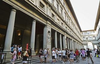 Здание галереи Уффици
