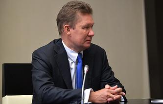 """Председатель правления """"Газпром"""" Алексей Миллер"""