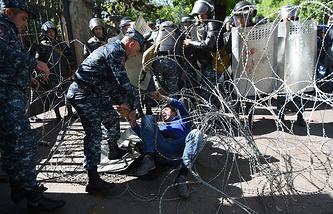 Ереван, Армения, 16 апреля