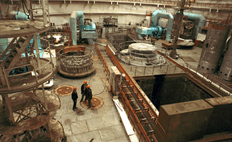 Реакторное отделение Запорожской АЭС. Фото ИТАР-ТАСС