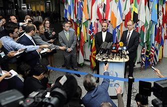 Встреча представителей Ирана с экспертами МАГАТЭ в Вене
