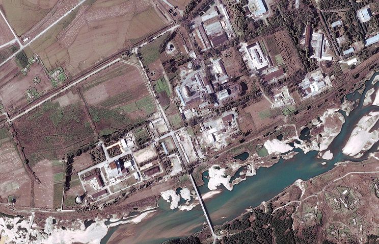Yongbyon complex nuclear facility