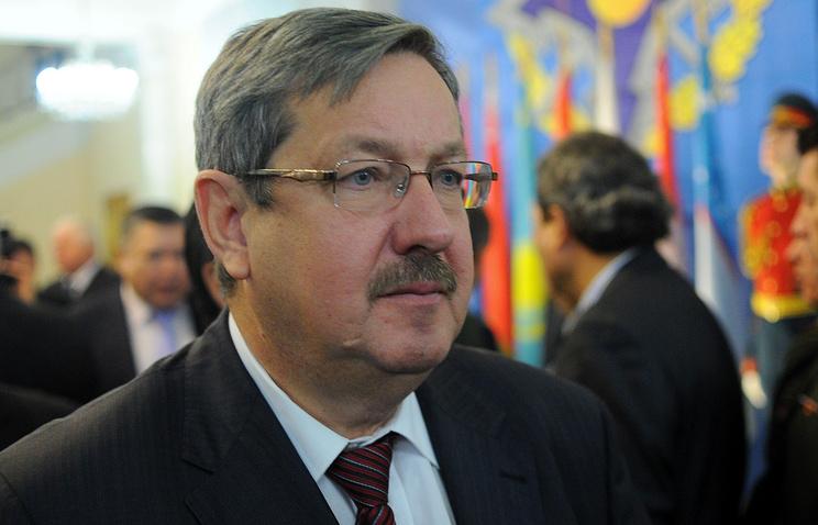 Russian ambassador to Tajikistan Igor Lyakin-Frolov