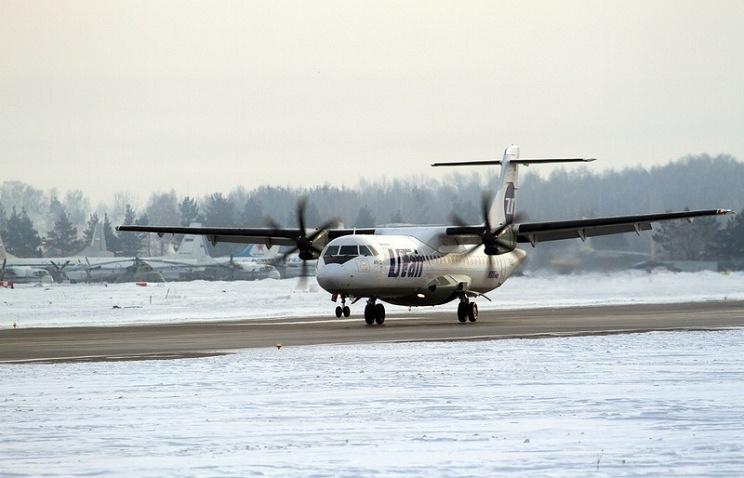 UTair's  ATR-72 jet
