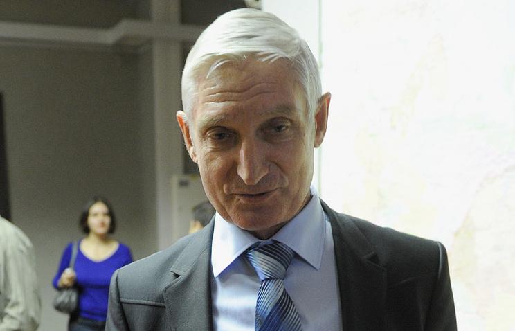 Parliamentarian Nikolai Ryabov