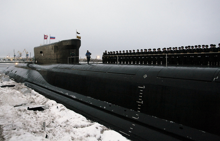 The Alexander Nevsky submarine