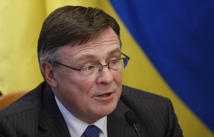Ukrainian Foreign Minister Leonid Kozhara