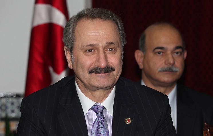 Turkish Economy Minister Zafer Caglayan