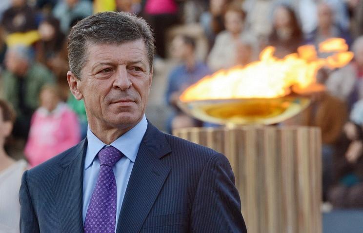 Russia's Deputy Prime Minister Dmitry Kozak