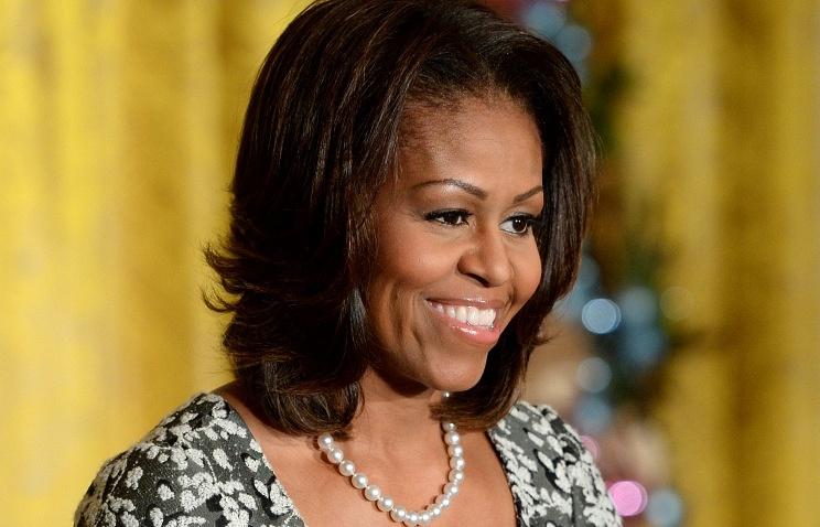 U.S. First Lady Michelle Obama