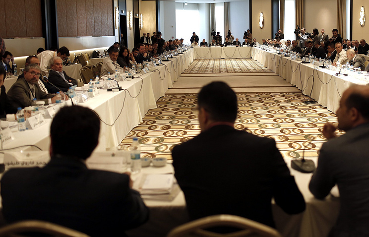 Syrian oppositions meeting in Istanbul, 2013