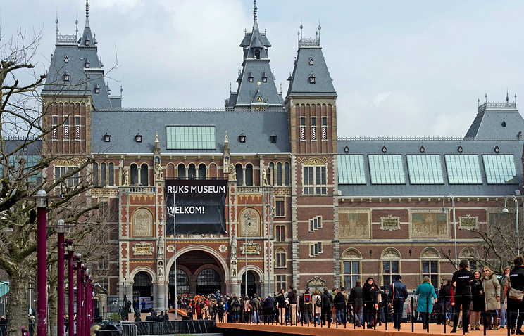 Amsterdam State Museum re-opened after reconstruction