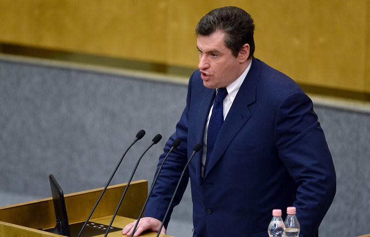 MP Leonid Slutsky