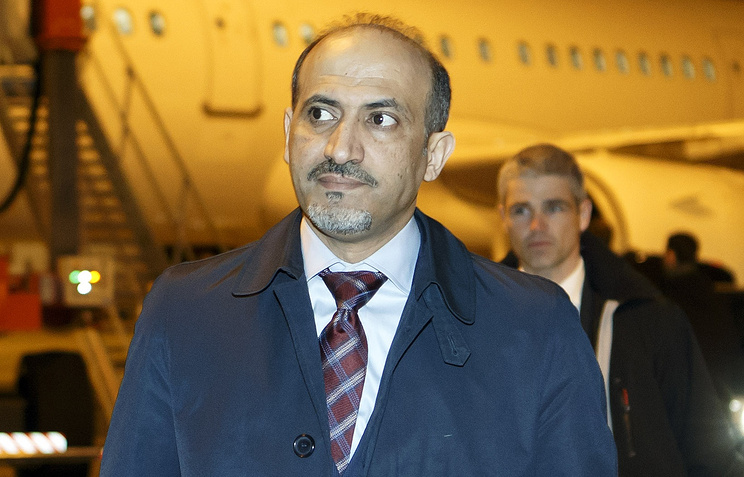 President of the Syrian National Coalition Ahmed al-Jarba