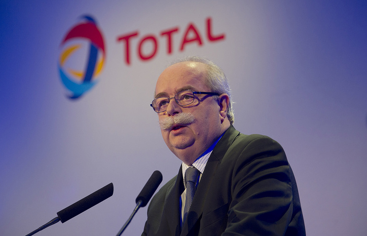 Total's CEO Axel Weber