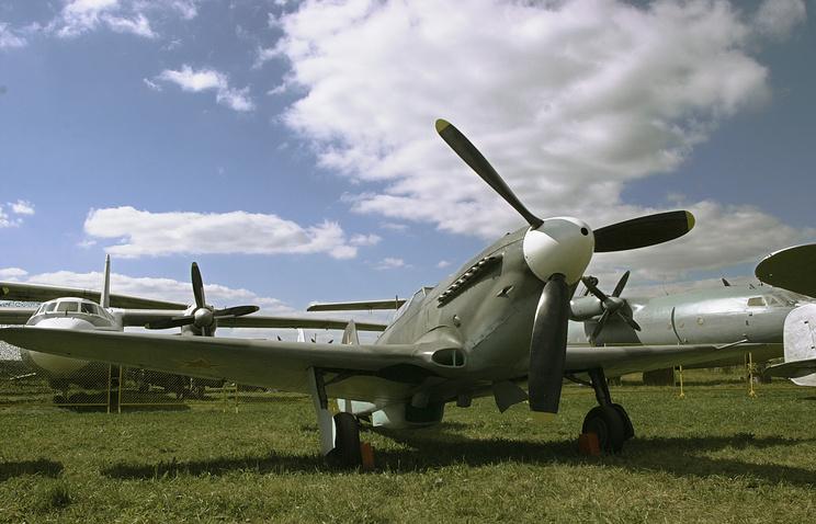 Il-2 attack plane (archive)