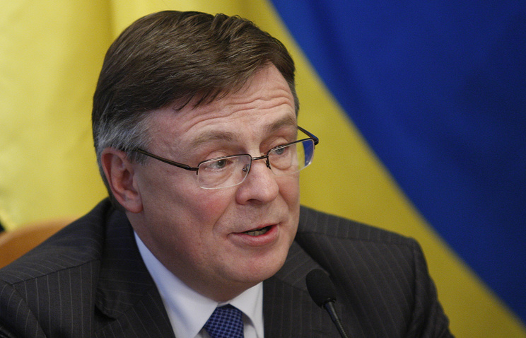 Ukraine's acting Foreign Minister Leonid Kozhara