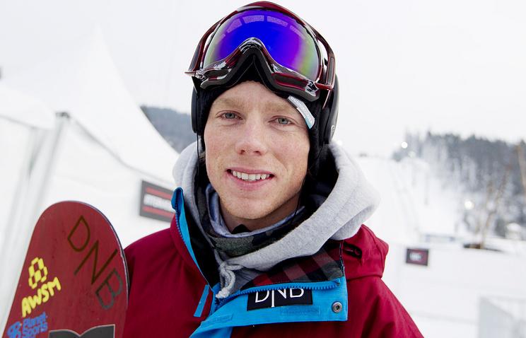 Norwegian snowboarder Torstein Horgmo