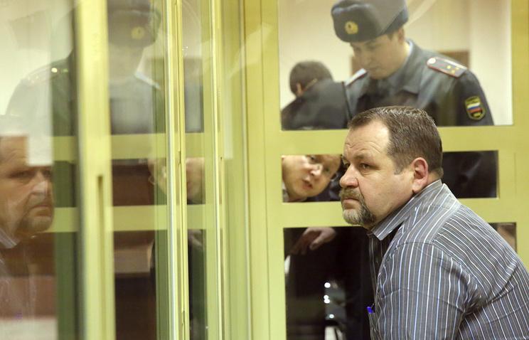 Sergei Kabalov during his trial