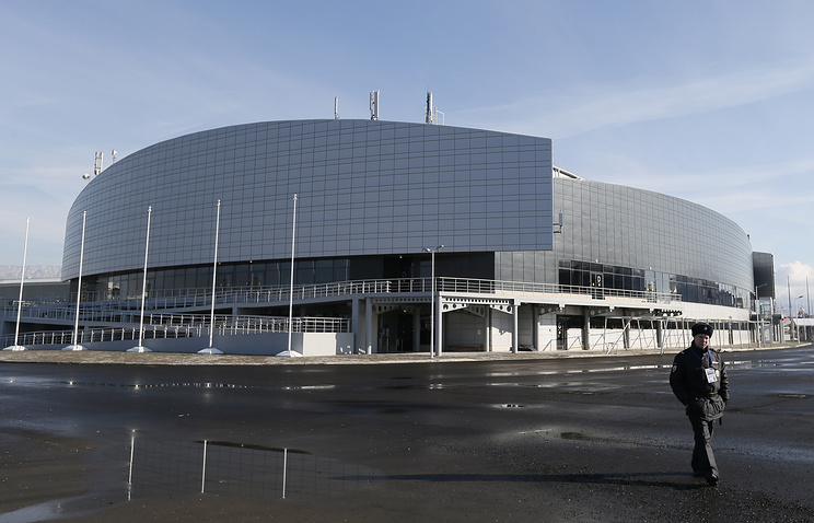The Ice Cube Curling Center at the Sochi 2014 Olympic Park