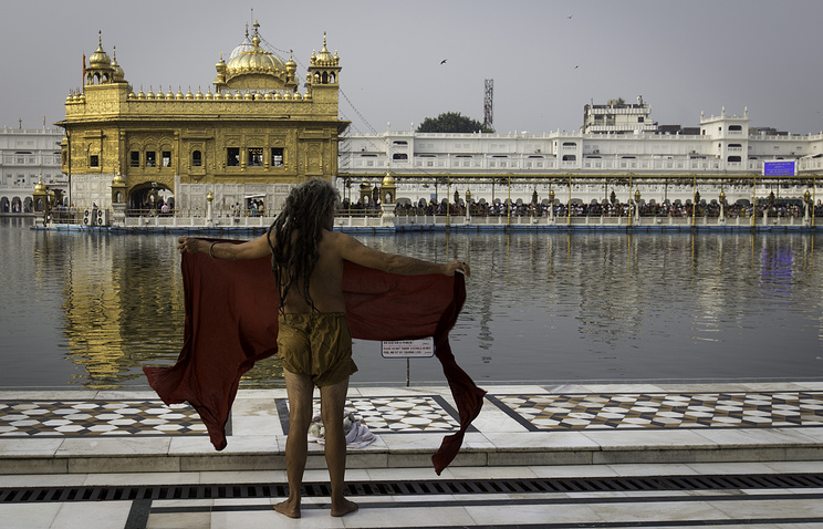 Golden Temple in Amritsar, India