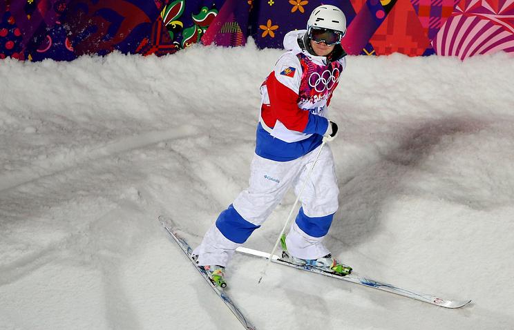 Russian freestyle skier Alexander Smyshlyaev