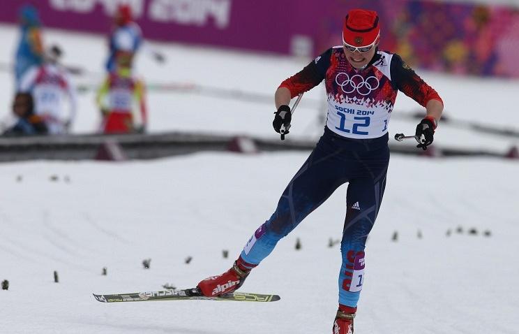 Russian skier Yevgenya Shapovalova
