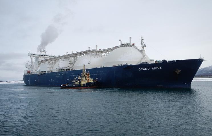 Liquefied gas transportation (archive)