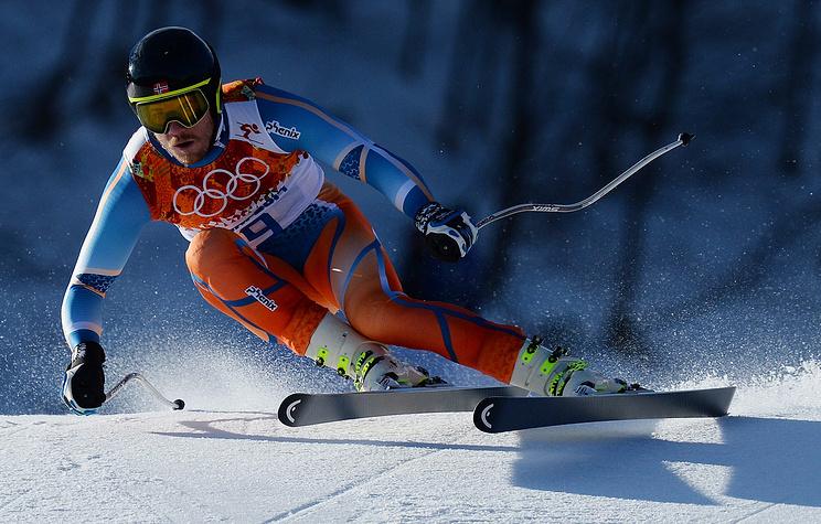 Norwegian skier Kjetil Jansrud