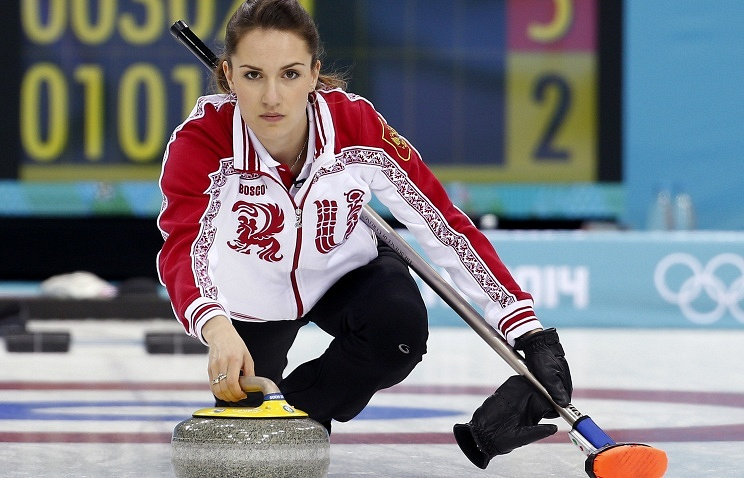 Russian skip Anna Sidorova