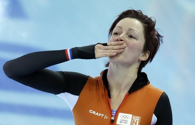 Dutch speed skater Jorien Ter Mors